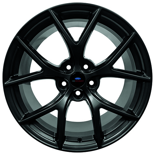 "2015-2020 MUSTANG HP PERFORMANCE PACK 19"" X 9.5"" FRONT WHEEL - MATTE BLACK"