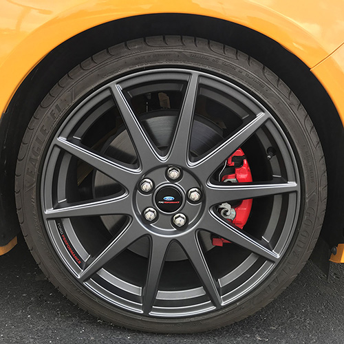 "2013-2018 FOCUS ST FORD PERFORMANCE 19""X8"" MATTE GRAY WHEEL"