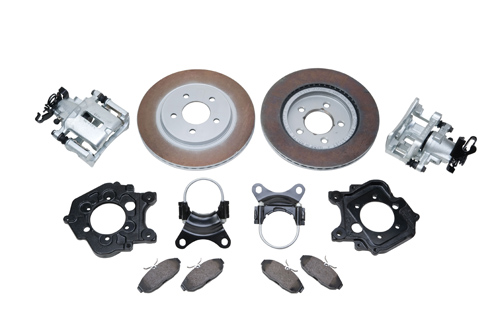 5-LUG REAR DISC BRAKE KIT LATE MODEL FORD 9-INCH TRUCK AXLE HOUSING