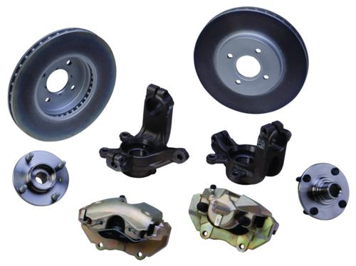2000-2004 FOCUS 300 MM FRONT BRAKE UPGRADE KIT