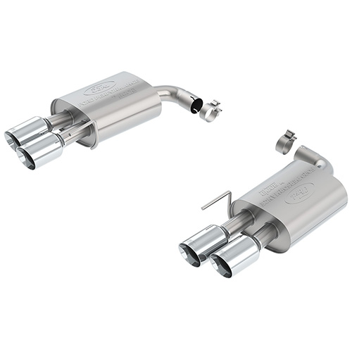 2018-2020 MUSTANG GT 5.0L TOURING MUFFLER KIT - CHROME TIPS