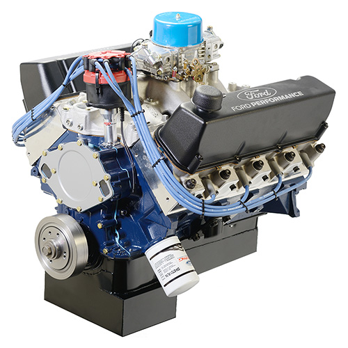 572 CUBIC INCH 655 HP BIG BLOCK STREET CRATE ENGINE-FRONT SUMP PAN