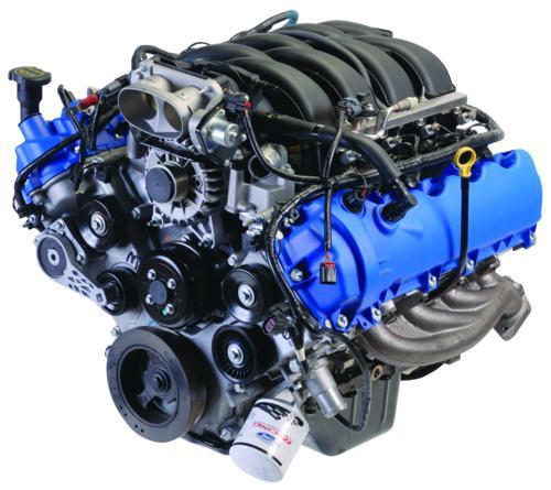 4.6l 3v 350hp Hotrod Modular Crate Engine