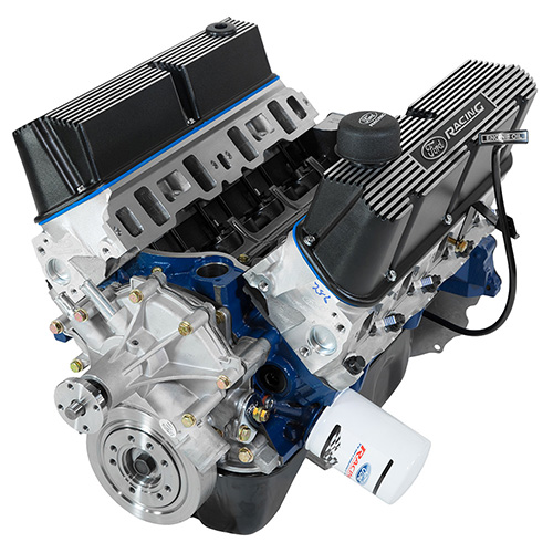 "302 CUBIC INCH 345 HP BOSS CRATE ENGINE WITH ""B"" CAM"