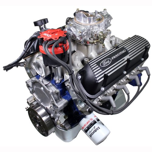 X2347D STREET CRUISER-DRESSED CRATE ENGINE WITH X2 HEADS-FRONT SUMP PAN