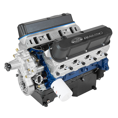 363 CUBIC INCH 507 HP BOSS CRATE ENGINE-Z2 HEADS-REAR SUMP PAN