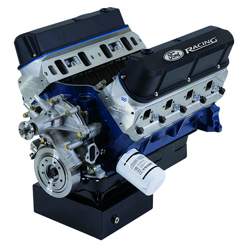 427 CUBIC INCH 535 HP BOSS CRATE ENGINE-Z2 HEADS-FRONT SUMP PAN