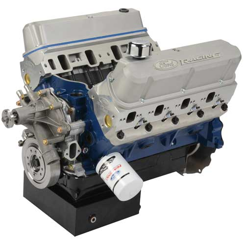 460 CUBIC INCH 575 HP BOSS CRATE ENGINE-FRONT SUMP PAN