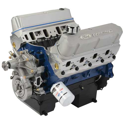 460 CUBIC INCH 575 HP BOSS CRATE ENGINE-REAR SUMP PAN