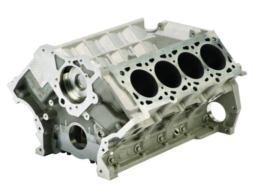 5.8L MUSTANG SHELBY GT500 ALUMINUM ENGINE BLOCK AND HEAD CHANGING KIT