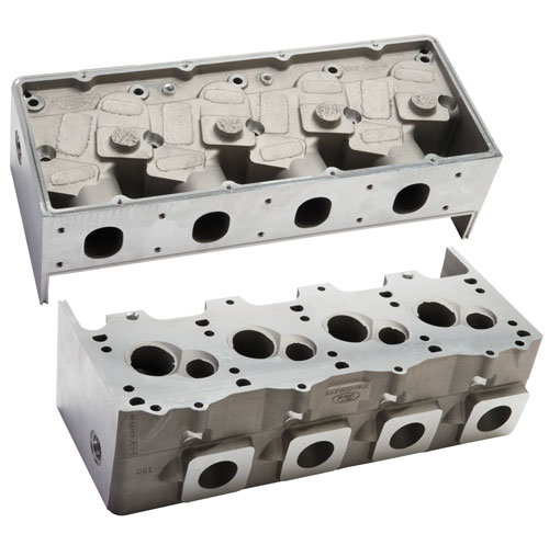 Pro Stock Heads : Pro stock head sequential chambers part details for m