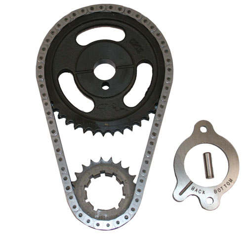 302/351W DOUBLE ROLLER TIMING CHAIN SET - CAST IRON GEAR