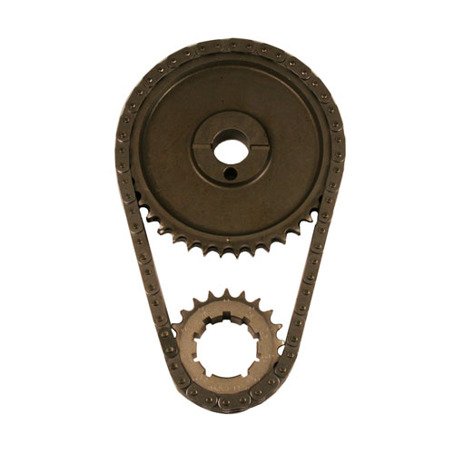 302-351W DOUBLE ROLLER TIMING CHAIN SET-STEEL GEAR