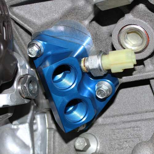 Jeep Dealers Cleveland >> 2011-2014 5.0L 4V TI-VCT OIL LINE ADAPTOR| Part Details ...