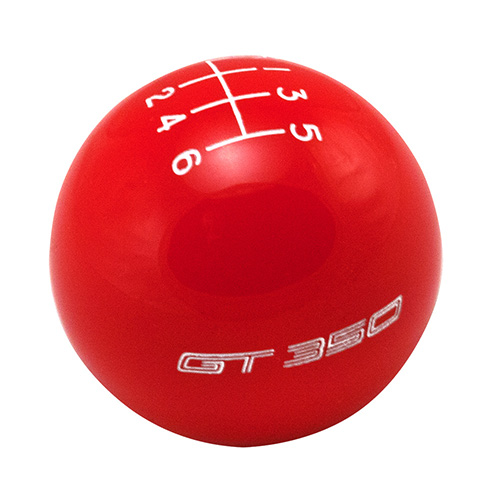 FORD PERFORMANCE GT350 SHIFT KNOB 6-SPEED - RED