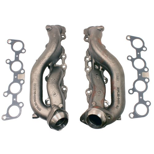 2011-2019 5.0L COYOTE STREET ROD CAST IRON EXHAUST MANIFOLDS