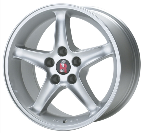 "1995 SILVER MUSTANG COBRA ""R"" WHEEL 