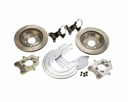 1994-2004 MUSTANG GT REAR BRAKE BRACKET UPGRADE KIT