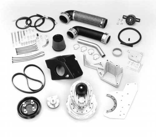 BOOST THE HORSEPOWER OF YOUR 5.0L MUSTANG WITH A FORD RACING SUPERCHARGER KIT